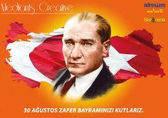 30 Ağustos kutlama by Haldun çağlıner, via Behance