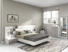 Dormitorio moderno (168 – D3) - Muebles CASANOVA
