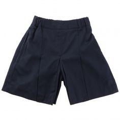Box Pleat Shorts