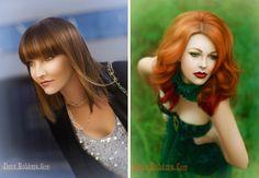 Urban sleek &   Enchanted princess looks.  Hair/MUA: Erica Hardy   Photography: Deux Boheme