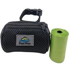 American River POOP BAG Holder - Black Puppy Supplies, Designer Dog Clothes, Dog Items, Dog Coats, Bag Holders, Dog Design, Cool Toys, Dog Love