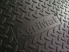 Agrimat Premium solid rubber interlocking system manufactured in Canada Stands on a stud to aid softness with high grip surface Use anywhere cattle are slipping. can be driven on when fixed with our stainless steel fixings