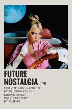 Minimalist Album Music Poster – Future Nostalgia by Dua Lipa Iconic Movie Posters, Minimal Movie Posters, Film Posters, Minimalist Music, Minimalist Poster, Poster Wall, Poster Prints, Photowall Ideas, Vintage Music Posters