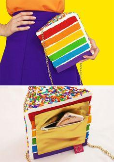 Fashion Bags : Food-Inspired Handbags That Will Make You Hungry Unique Handbags, Unique Purses, Handmade Purses, Cute Purses, Purses And Bags, Novelty Handbags, Novelty Bags, Betsey Johnson Luggage, Kate Spade Handbags