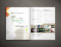 Link - Creative Management | Company Profile by Deden Fathurrahman, via Behance