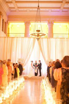 Glamorous White San Francisco Wedding