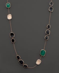 Black Hills Gold Bracelet Roberto Coin Rose Gold Diamond, Black Jade and Green Agate Necklace - Stone Jewelry, Jewelry Art, Beaded Jewelry, Silver Jewelry, Silver Rings, Bijoux Design, Schmuck Design, Jewelry Design, Black Hills Gold Jewelry