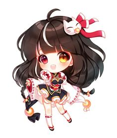 Find images and videos about cute, anime and chibi on We Heart It - the app to get lost in what you love. Kawaii Anime, Chibi Kawaii, Loli Kawaii, Cute Anime Chibi, Kawaii Art, Manga Anime, Manga Girl, Anime Art, Elsword