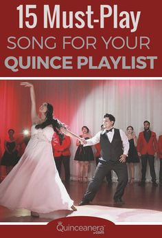 Put your guests dancing skills to the test with an awesome Quince playlist. Here are our top-pick jams, select your favorite! Quinceanera Planning, Quinceanera Party, Quinceanera Dresses, Sweet 16 Parties, 15th Birthday, Sweet Sixteen, Party Planning, Wedding Ceremony, Songs