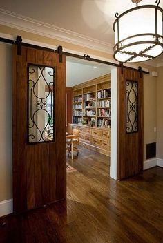 glass barn doors | Idées pour la maison | Pinterest | Doors, Barn Doors and Barns