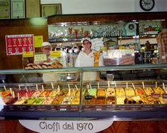 Gelato in Sorrento, Italy