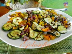 Microwave Recipes, Cooking Recipes, Antipasto, Light Recipes, Finger Foods, Potato Salad, Zucchini, Crisp, Food And Drink