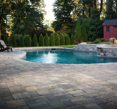 Take a deep breath and dive into the vast collection of pool deck ideas with Belgard.
