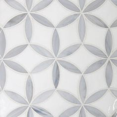 grey & white palette (2) Glass mosaic