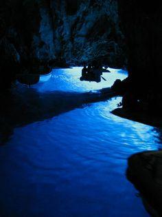 青の洞窟(ビシェヴォ島)