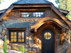 stone tiny house