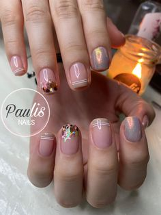Toe Nails, Erika, Nail Art, Beauty, Gel Nail, Enamel, Stiletto Nails, Short Nail Manicure, Burberry Nails