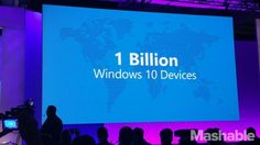 Microsoft won't have 1 billion Windows devices by 2018 after all Image: pete pachal/mashable  By Christina Warren2016-07-18 17:26:41 UTC  At its Build conference back in 2015 Microsoft set for itself a particularly ambitious goal: Have 1 billion devices running Windows 10 by mid2018.  But now that were more than halfway through 2016 Microsoft has backed off of that figure admitting that goal was just a little bit too big.  In a statement to ZDNets Mary Jo Foley Microsoft said (emphasis…