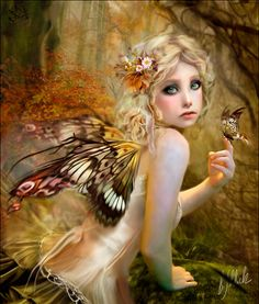 Fairy - Fantasy & Abstract Background Wallpapers on Desktop Nexus (Image Fairy Dust, Fairy Land, Fairy Tales, Forest Fairy, Magical Creatures, Fantasy Creatures, Elfen Tattoo, Elfen Fantasy, Arte Fantasy