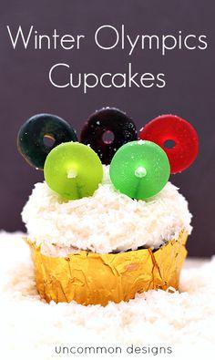 Winter Olympics Cupcakes the game, winter game, cool cupcake designs, olymp cupcak