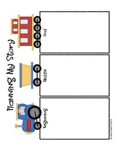 Sample Page from:  First Grade Writing Units of Study {Supports the Common Core}
