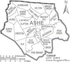 Ashe County, North Carolina - Wikipedia, the free encyclopedia