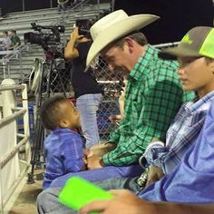 An Appreciative Mother Writes a Letter to the Man at the Rodeo Who Changed Their Lives