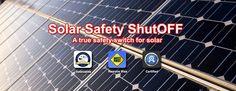 Flood Damage, Safety Switch, Solar Panels, Sun Panels, Solar Power Panels
