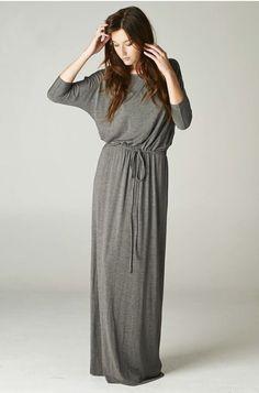 Dolman Sleeve Maxi Dress - Apostolic Clothing Co. It looks super comfortable. Muslim Fashion, Modest Fashion, Hijab Fashion, Fashion Top, Modest Dresses, Modest Outfits, Cute Outfits, Maxi Dresses, Clothing Co
