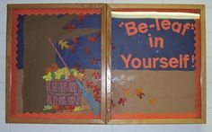 """Except for me, I would have it say """"Bee-lieve in yourself!"""" I am loving this bee-themed room idea!"""