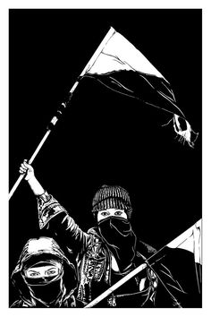 Digital Illustration Art Print on 100 lbs matte paper. Black to Edge, White border will not appear on actual Print. Punk Art, Anarchism, Rock Band Posters, Protest Posters, Anarchism Art, Art, Digital Art Illustration, Feminist Art, Police Art