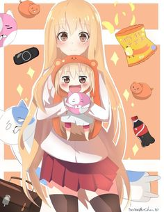 Cosplay Anime Himouto Umaru Chan fanart by Screeper-Chan - Anime Chibi, Anime Shojo, Tv Anime, Anime Plus, Chica Anime Manga, Anime Art, Anime Cosplay, Otaku, Animé Fan Art