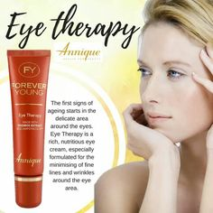 Minimize wrinkles around the eye area with Annique Eye Therapy