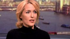 Gillian Anderson campaigns against modern slavery - BBC News