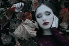 """A Dark Beauty"" — Photographer: Michele Maglio – Mic Photo Makeup: Maria Felice Romagnolo – Felix Make up Artist Model: Sabrina Barca"