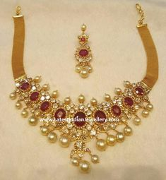 Spectacular 22K Gold Polki Ruby Bajuband/Choker Set,so beautiful,soft & silky. Will always be glued to my arm & around my neck.Love it so much.