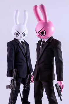 Mad Rabbit – 12″ Custom Figure on Toy Design Served