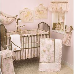 Make your nursery warm and inviting with a quality baby bedding set from Cotton Tale. All Cotton Tale crib bedding patterns are made using the finest quality materials and are uniquely designed to create an elegant and sophisticated nursery.