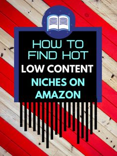 How To Find Profitable KDP Low Content Book Niches In 2020 Make Money On Amazon, Make Money From Home, Make Money Online, How To Make Money, Show Me The Money, Puzzle Books, Pinterest Marketing, Passive Income, Book Publishing