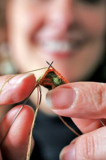 Althea Crome - miniature knitting