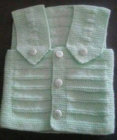 One Piece Knitted As Seamless Collar And Sleeve Cut Non Easy Vest Style – Baby out Fits Baby Knitting Patterns, Knitting Designs, Knitting Projects, Baby Pullover, Baby Vest, Free Baby Stuff, Baby Sweaters, Kind Mode, Baby Dolls
