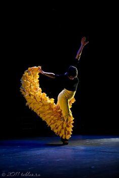 """Leonor Leal, una bailaora jerezana, en el ensayo general de su espectaculo """"eLe eLe"""""""