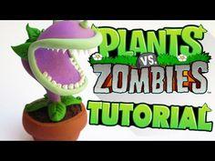 Tutorial Plantas Vs Zombies de Plastilina - YouTube