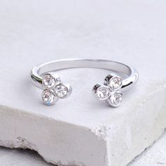 Henna Ring - Silver