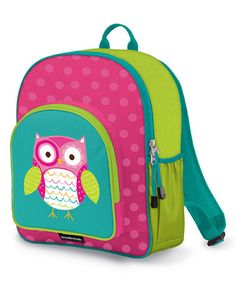 Loving this Owl Backpack on #zulily! #zulilyfinds