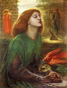 Beata Beatrix (ca. 1863), by Dante Gabriel Rossetti