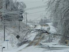 ice storm in kentucky