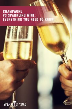 What the difference between Sparkling wine Vs Champagne Wine? Read on to know the fascinating difference between the two. Read On Sparkling Wine Vs Champagne, Sparkling Wine Brands, Champagne Region, Champagne Bottles, Pinot Blanc, Pinot Gris, Fun Drinks, Alcoholic Drinks