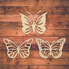 Butterfly template for laser cutting.  Vector online store. Free designs. Free laser cut template, pattern every day