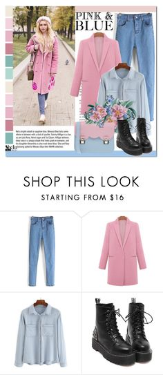 """""""SheIn #1 (IV)"""" by cherry-bh ❤ liked on Polyvore featuring Garance Doré, La Cartella, women's clothing, women's fashion, women, female, woman, misses, juniors and shein"""